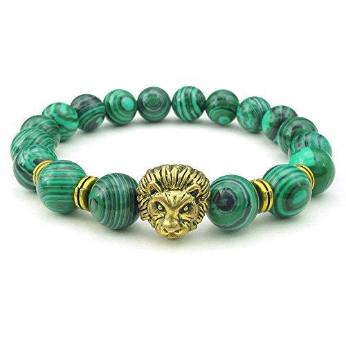 KONOV Malachite Bracelet Natural Gemstone