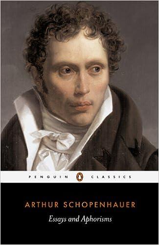Schopenhauer complete essays ralph