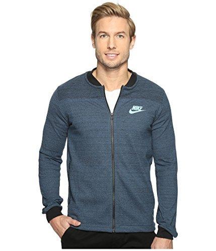 Nike Men's Sportswear Advance 15 Knit Jacket Squadron Blue Size 2XL