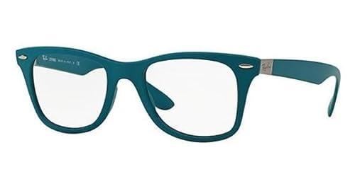 e47566bc634c Amazon.com  RAY BAN Eyeglasses RX 7034 5442 Matte Oil 52MM  Shoes