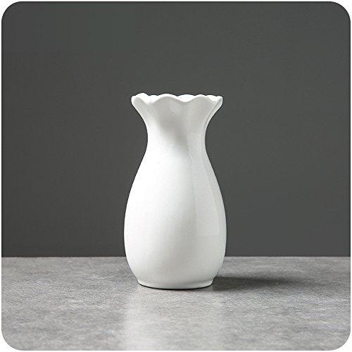Kuekjcnmx Ceramic Vase Creative Abstract Modern Simple Porcelain Flower Vase Decorative Vase Tabletop Home Decor 4