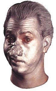 Wizard of Oz Tin Man Nose Accessory ()