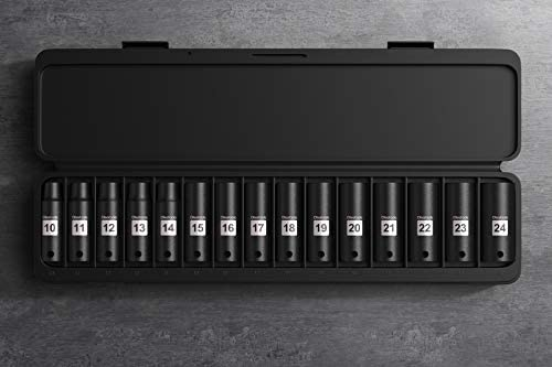 "Olsa Tools 1/2"" Drive Deep Impact Socket Set 