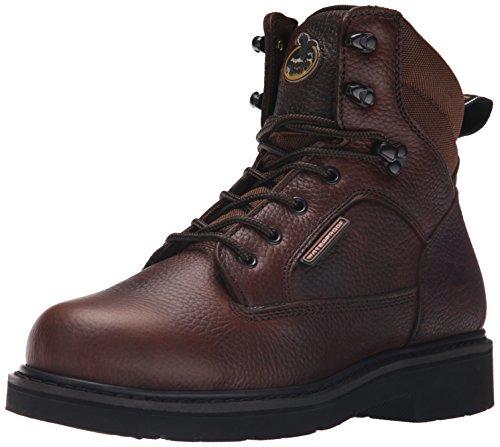 Georgia Boot Mens Georgia Glennville 6 Work Boot Work Shoe Brown 2HZriO
