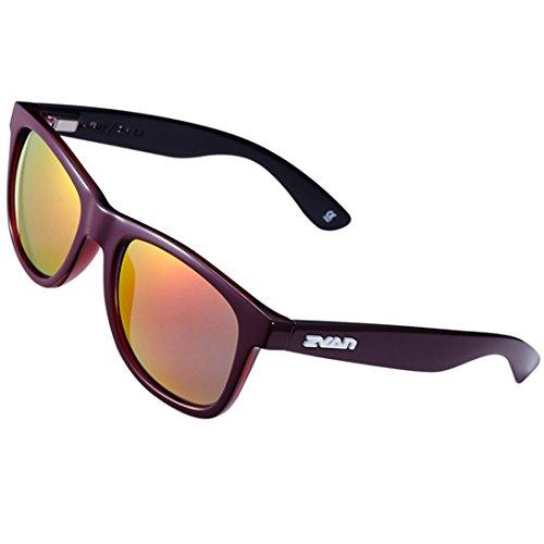[Okeepar Superlight Revo Polarized Sunglasses, Retro Large Horn Rimmed Style, Wayfarer Outdoor Sports Golf Fishing Climbing Sunglasses, UV400 Lens Dark] (80s Style Men)