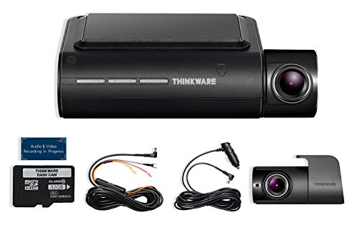 THINKWARE F800 PRO 2 Channel HD Dash Camera | 32GB Micro SD Card with Hardwiring Kit | Wifi Capability For Sale