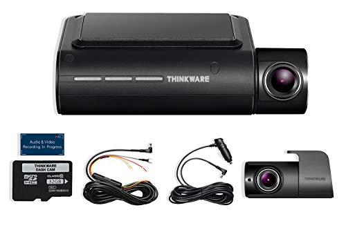 THINKWARE F800 PRO 2 Channel HD Dash Camera | 32GB Micro SD Card with Hardwiring Kit | Wifi Capability