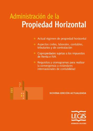 Descargar Libro Administración De La Propiedad Horizontal Legis