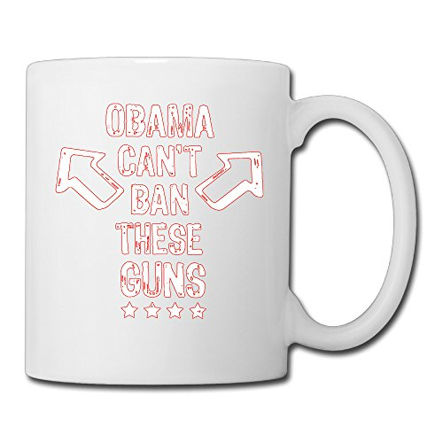 Obama Can't Ban These Guns Watchword Cool Espresso Mugs