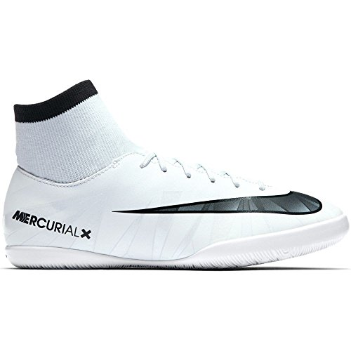 Nike Unisex-Kinder Jr Mercurialx Vcty 6 Cr7 Df Ic Fußballschuhe Weiß (Teinte Bleue/blanc/teinte Bleue/noir)