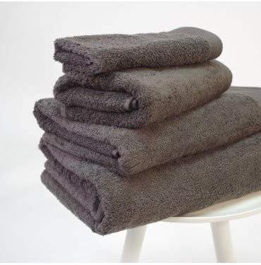 10XDIEZ Toalla algodón Pima 600 gr/m2 carbón - Color - Gris ...