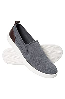 Mountain Warehouse Drift Canvas Mens Slip-On Shoes