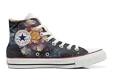 Converse Customized - zapatos personalizados (Producto Artesano) Infinity flors - TG32