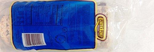 Landau Natural Foods Rice Cakes Whole Grain Brown Plain Lightly Salted 4.9 Oz. Pk Of 3.