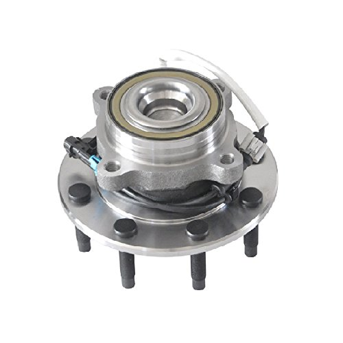 DRIVESTAR 515059 New Front 8-Lug Wheel Hub & Bearing fits Chevy GMC Van Trucks 2WD 2X4 ABS (Van Front Bearing Hub)