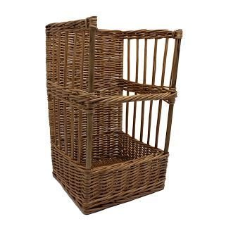 Rectangular Wicker Basket Baguette Holder by Red Hamper