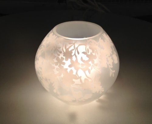 1pc Knubbig Table Lamp 4 11cm Cherry Blossoms Frosted Glass