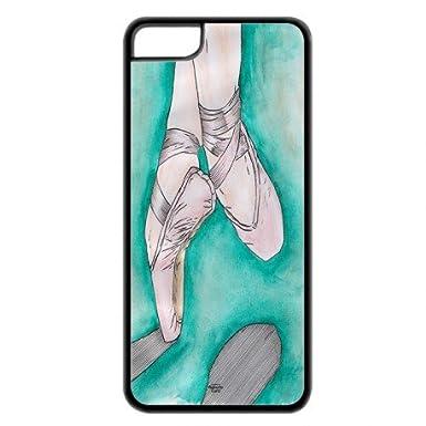 Cover Iphone 5c Scarpette Danza Classica Sfondo Verde Acqua By