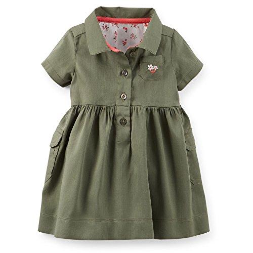 olive flower girl dresses - 5
