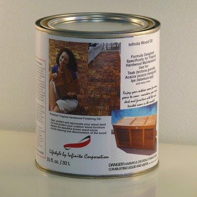 Teak Oil 1-Quart Container (Oiling Teak Outdoor Furniture)