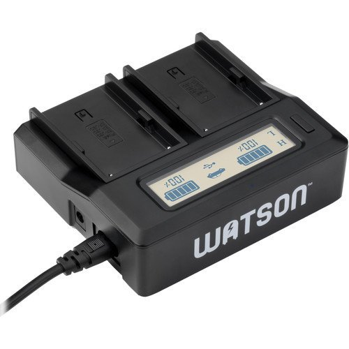 Watson Duo LCD Charger for BP-U Series Batteries (Sony Bp Battery Charger)