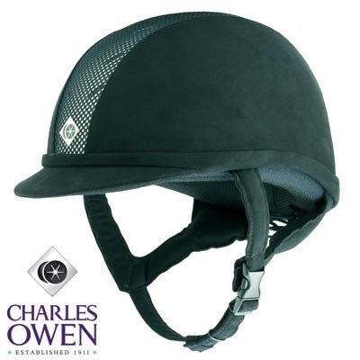 Charles Owen Equestrian - Charles Owen Ayr8 Riding Helmet All Black Size 7