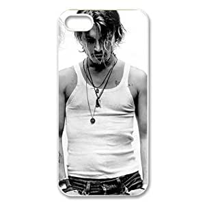 Custom Johnny Depp New Back Cover Case for iPhone 5 5S CP771