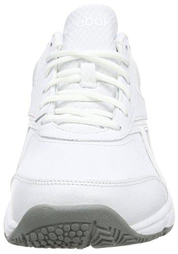 Flat white Reebok N Grey Zapatillas Hombre Cushion 2 Deporte Para Blanco De 0 Work TTP7qArnR