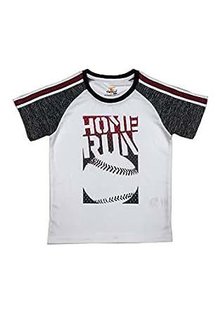 Ferucio Boys Sports T-shirt, White