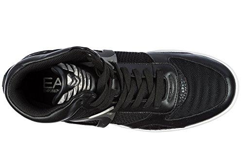 Emporio Armani EA7 Scarpe Sneakers Alte Uomo Nuove Transformers Basket Nero 2018 Precio Barato Finishline Descuento Venta Barata Excelente Envío Libre Últimas Colecciones fPtW6