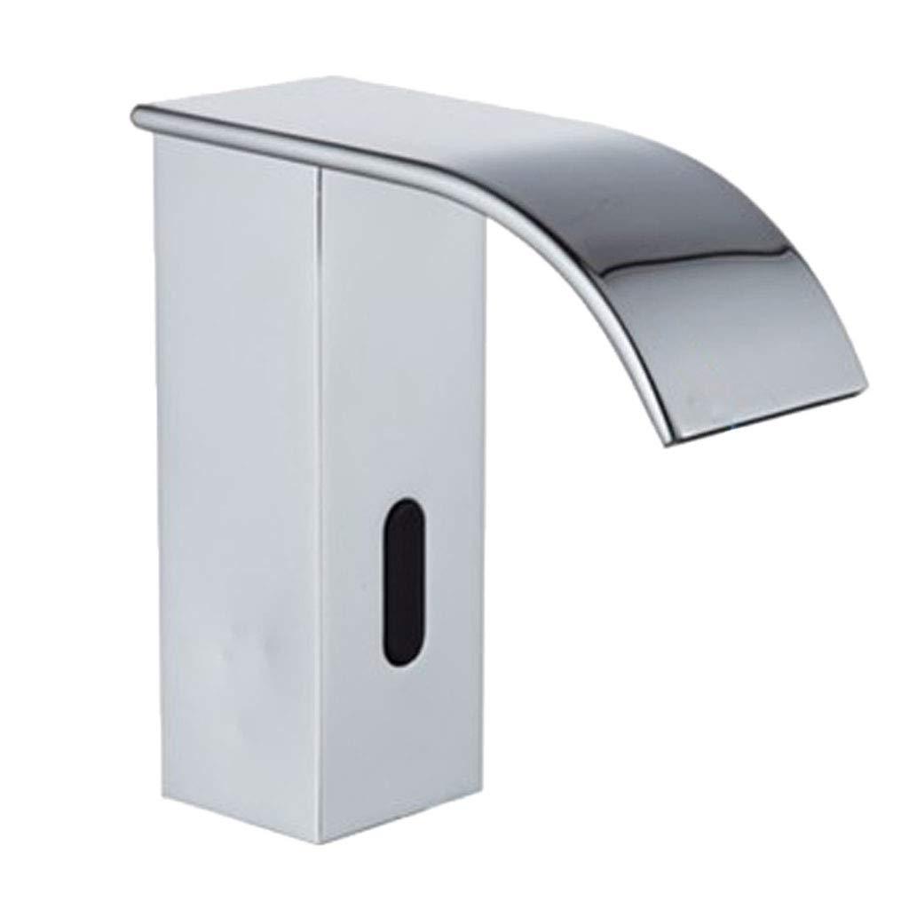 Homyl Infrarot Sensor Automatische Wasserhahn Mischbatterie Einhebel Armatur für Badezimmer Waschbecken