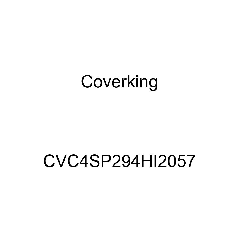 Coverking CVC4SP294HI2057 2-Tone Black-Red Stormproof Custom Vehicle Cover