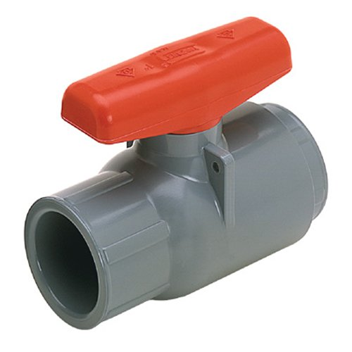 Spears 6622-012 PVC Schedule 80 2000 Compact Ball Valves, Socket, EPDM, 1-1/4-Inch
