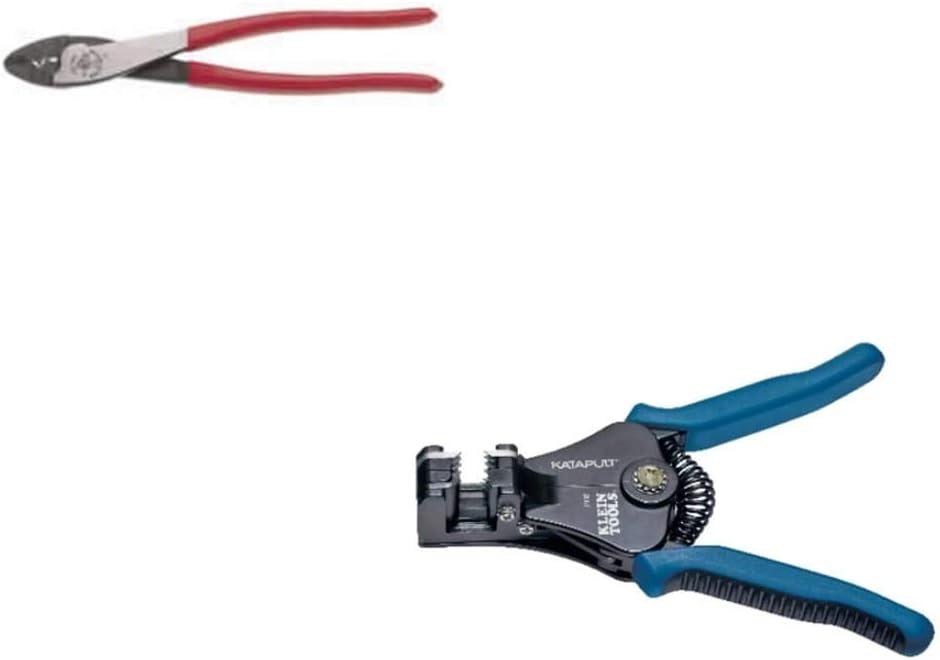 8/'/' Self-Adjusting Wire stripper /& Solderless Crimp Wire Terminal Connector Ends