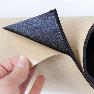 Sound Proofing Foam Deadening Vibration Insulation Closed Cell Mat - Raw Materials Foam - (3mm) - 1 X Sound proofing cell foam