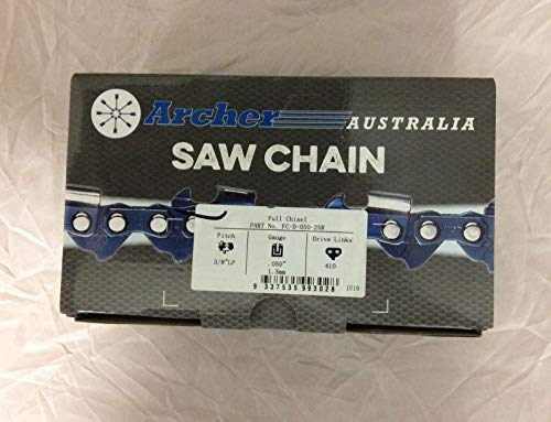 Archer Chainsaw Chain 3/8LP .050 Full Chisel
