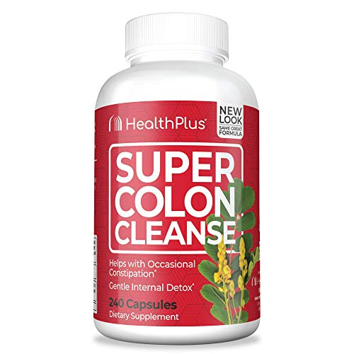 Super Colon Cleanse, 530mg, 240 Count (Pack of 1)