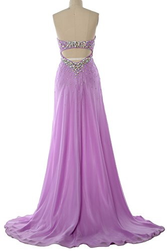 Long Prom Dress Party Gown Homecoming Evening Formal Hi Women Elfenbein Lo MACloth Crystal AqxSIwnT