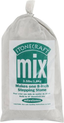 Midwest Products Premium Stepping Stone Cement Mix, 3.5-Pounds