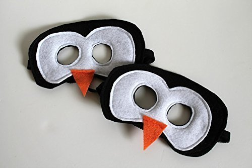 Felt Penguin Mask for Kids and Adults