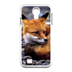 SamSung Galaxy S4 I9500 2D Personalized Hard Back Durable Phone Case with Fox Image