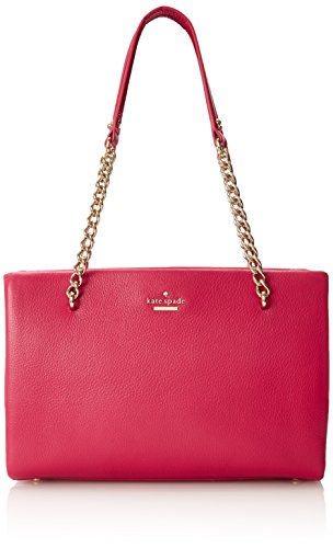 kate spade new york Emerson Place Smooth Small Phoebe Shoulder Bag Berry Tartlet One Size