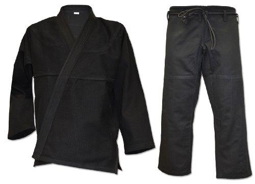 (All-Around Classic BJJ Kimono with Free BJJ white belt (A2) )