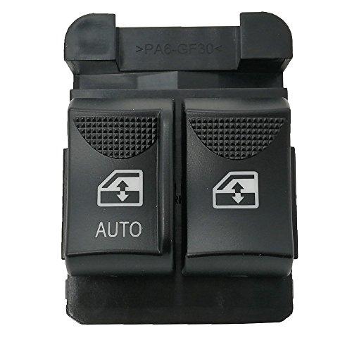 Amrxuts Front Left Power Window Control Switch for 2000-2005 Chevrolet Monte Carlo 25725880 10284860 19244863 - Door Chevrolet Front Monte Carlo