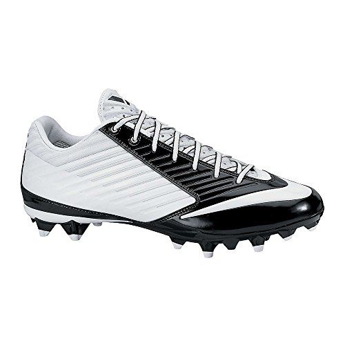 Nike Mens Vapor Speed Low TD Molded Football Cleats White/Black