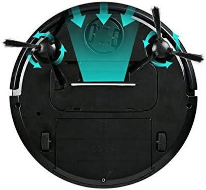 WANGXIAO Aspirateur Robot,Mini Capteur Anti-Collision à Mouvement Libre Ultra-Mince à Forte Aspiration pour Nettoyer Les Poils d\'animaux.