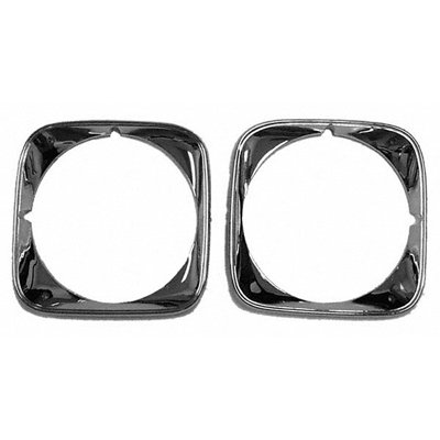 Goodmark Headlight Bezel Set for 1971 Chevrolet Chevelle, El Camino