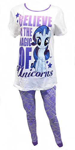 Pony My Little Unicorns Ladies 2-Piece Pajama Set US 18-20
