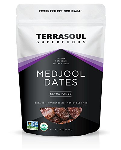 Terrasoul Superfoods Organic Medjool Dates, 2 Pounds