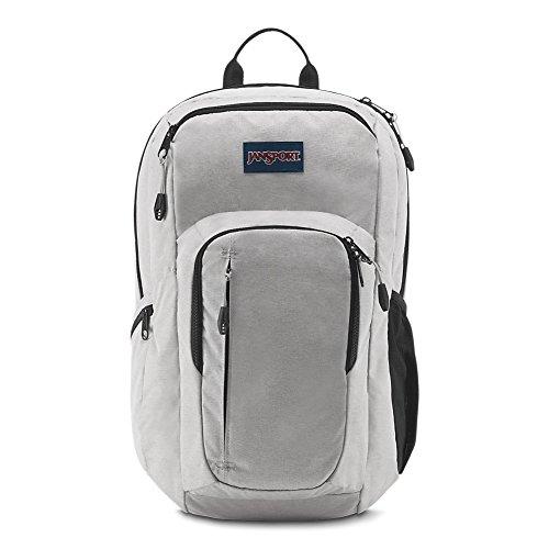 JanSport JS00T69G3F6 Recruit Laptop Backpack, Grey Heathered